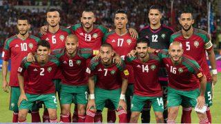 Marruecos durante un partido de clasificación. (Getty)