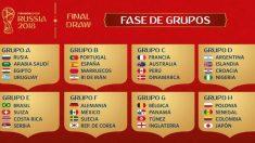 Así quedan los grupos del Mundial (FIFA)
