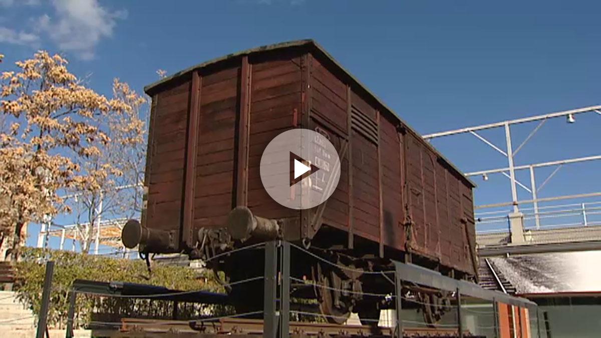 La exposición 'Auschwitz. No hace mucho. No muy lejos' se instala en el Centro de Exposiciones Arte Canal de Madrid