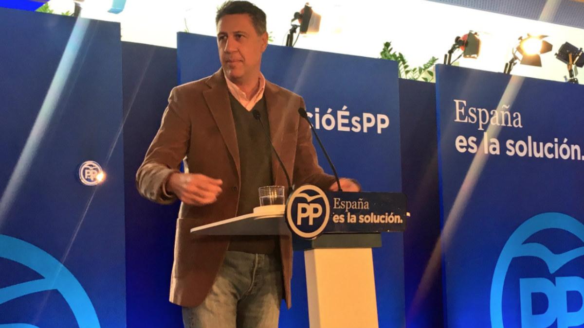 Xavier García Albiol, candidato del PP a las elecciones catalanas del 21-D. Foto: @Albiol_XG