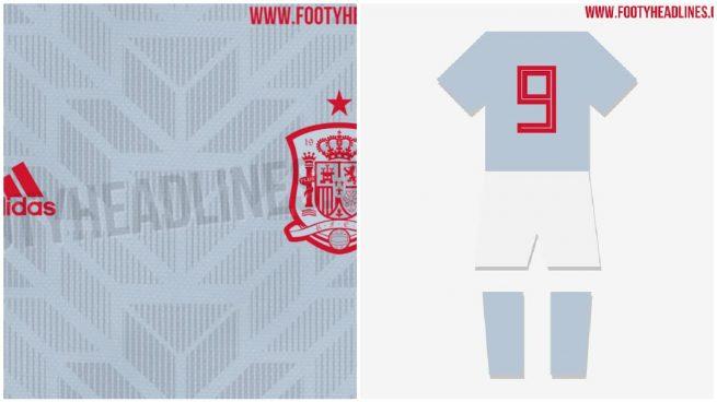 279a0a46f42cb La segunda equipación de España será blanca con tribales grises