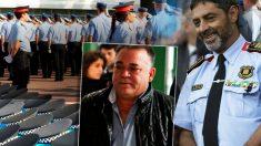 El narco Manuel Gutiérrez carbajo y el mayor de los Mossos d'Esquadra, Josep Lluís Trapero.
