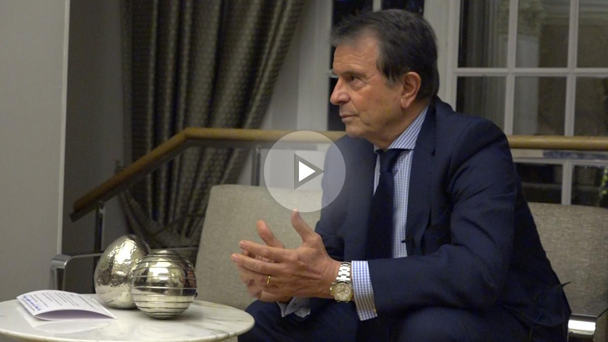 Antonio Catalán, presidente de AC Hoteles by Marriott