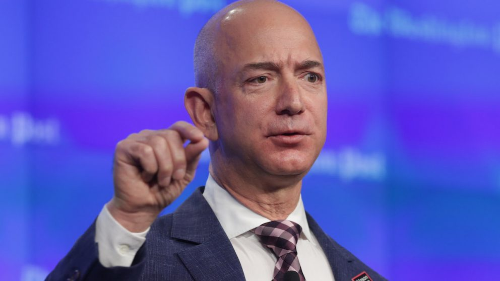 El fundador y director ejecutivo de Amazon, Jeff Bezos. (Foto: Getty)