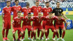 Plantilla de la selección de fútbol de Rusia (AFP)