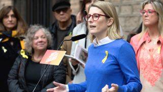 La directora de campaña de Junts per Catalunya, Elsa Artadi (Foto: Efe)
