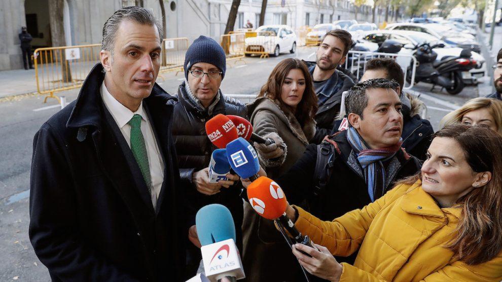 El abogado de VOX, Javier Ortega (Foto: Efe).