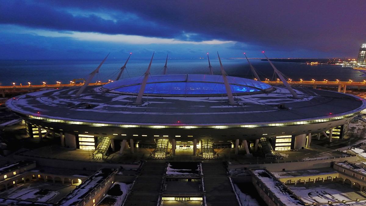 Estadio Krestovski. Foto: Ruslan Shamukov/AFP