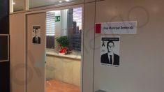 Sala del PDeCat en el Ayuntamiento de Barcelona