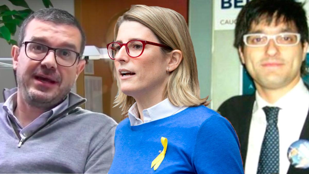 Los 'estrategas' del independentismo: Jaume Clotet, Elsa Atardi y Joan Maria Piqué