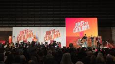 JXCat arranca la campaña. (Foto: Junts Per Cataluña)