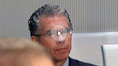 Francisco Granados en la primera sesión del juicio de la trama Púnica. (Foto: EFE)