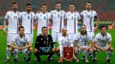 La selección de Islandia de fútbol. (Getty)
