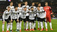 Once inicial Alemania durante las eliminatorias (AFP)