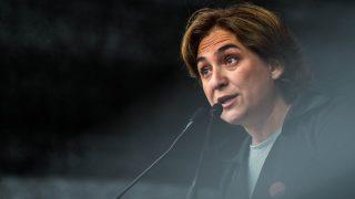 Ada Colau, alcaldesa de Barcelona (Foto. Getty)