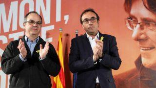 Jordi Turull y Josep Rull. (Foto: EFE)