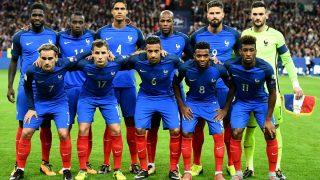 Los jugadores de la selección de Francia. (AFP)