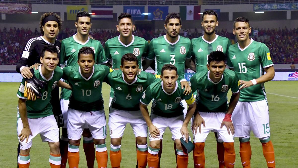 Los jugadores de la selección de México. (AFP)