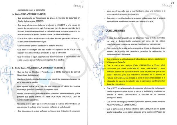 Rovira fue a las reuniones clave del 1-O con Puigdemont y Junqueras para seguir el golpe tras las detenciones