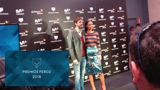 Julián López y Paula Echeverría han sido los encargados de leer la lista de nominados a los premios Feroz 2018. Foto: @PremiosFeroz