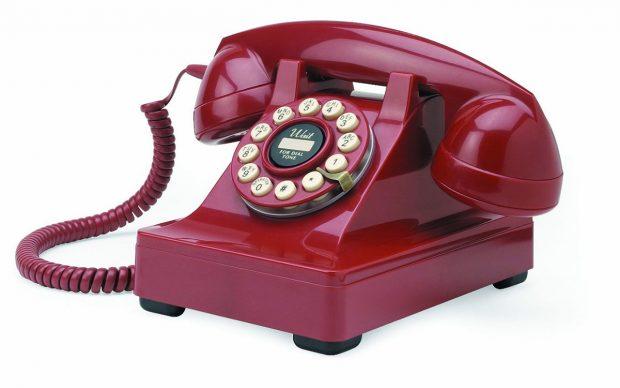 Regalos retro 6 productos que har n las delicias de los for Fuera de serie telefono