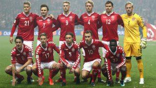 La selección de Dinamarca.