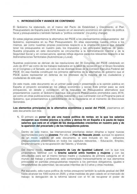 El PSOE quiere subir 15.000 millones los impuestos para contentar a Cataluña y restar tensión con otras CCAA