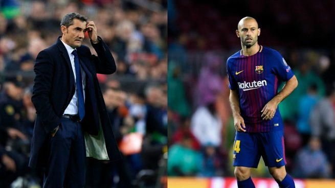 El Barça sólo fichará un central si se va Mascherano