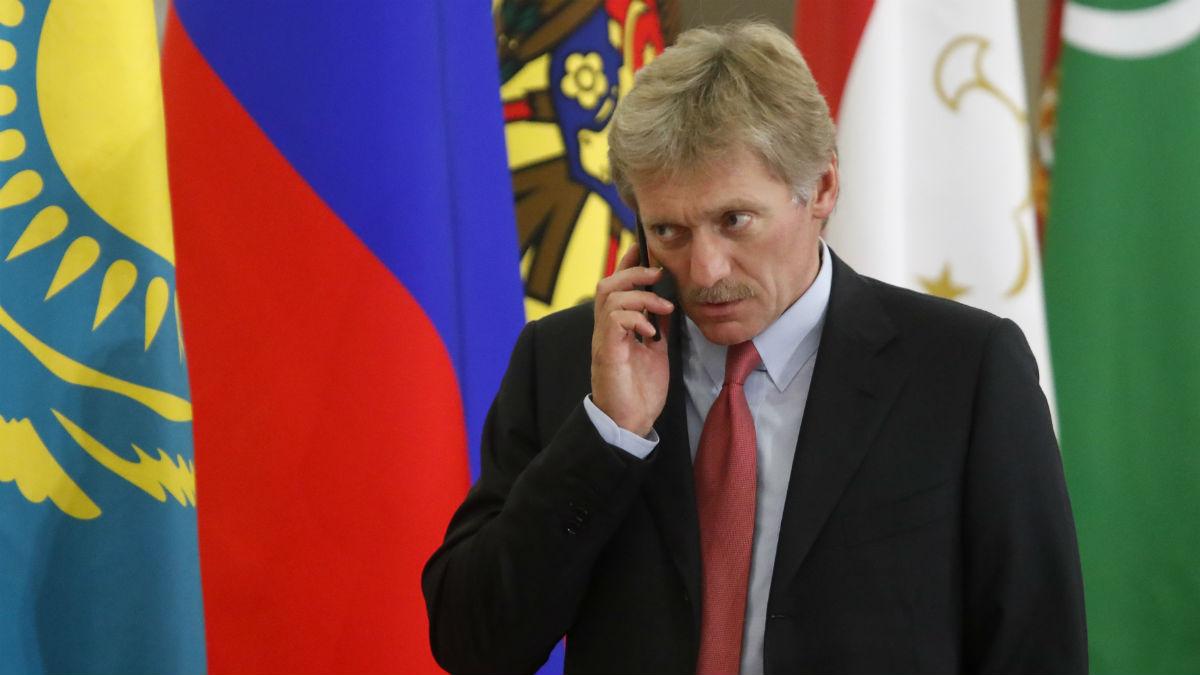 El portavoz del Kremlin, Dmitry Peskov. (AFP)