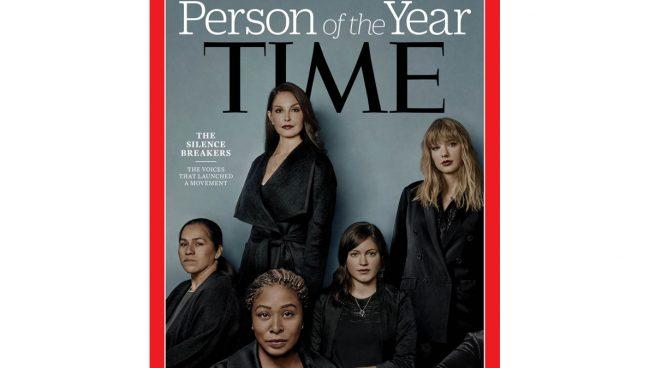 La revista 'Time' elige el movimiento contra el acoso #MeToo personaje del año