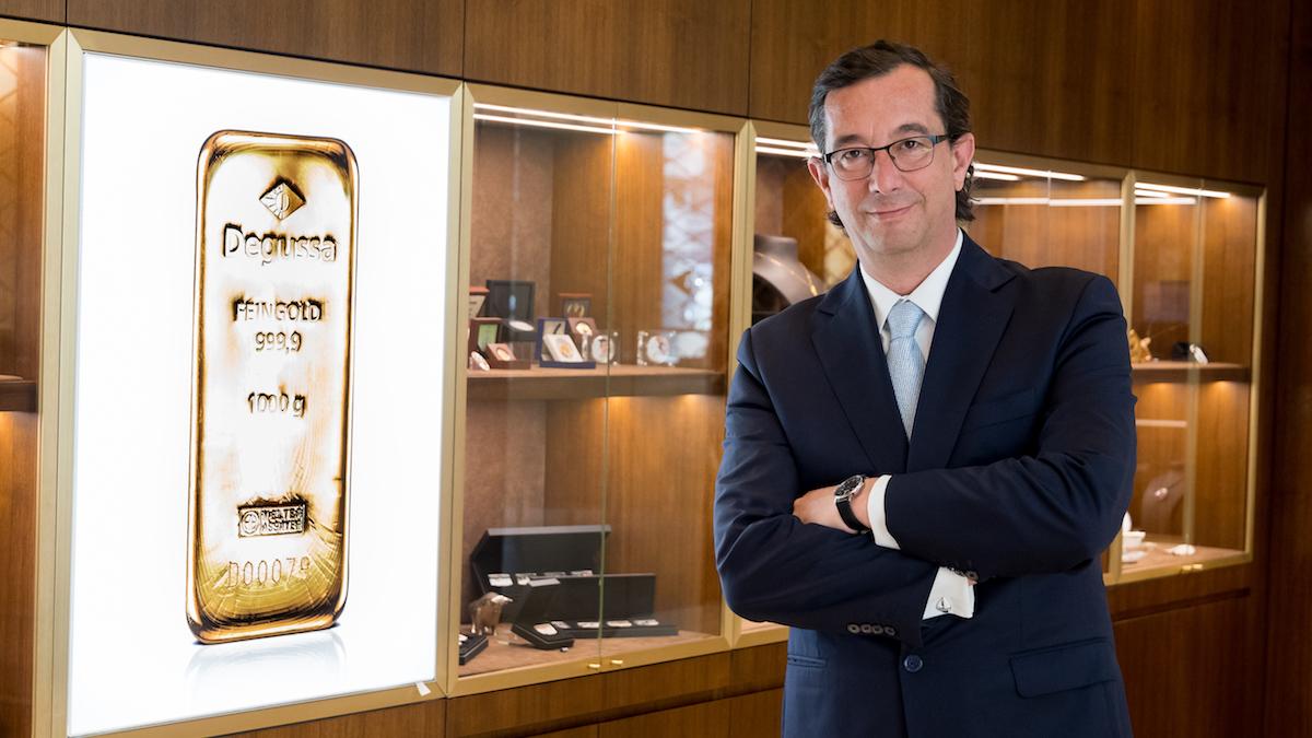 Tomás Epeldegui, director de Degussa España.