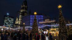 Mercado navideño en Breitscheidplatz, en Berlín. (Foto: AFP)