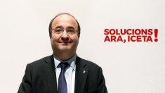 Miquel Iceta, primer secretario del PSC. (Foto: EFE)
