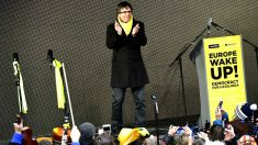 Carles Puigdemont en un acto de Bruselas. (Foto: AFP).