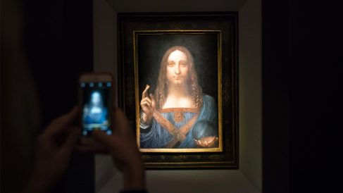 'Salvator Mundi', de Leonardo Da Vinci. (Foto: Getty)
