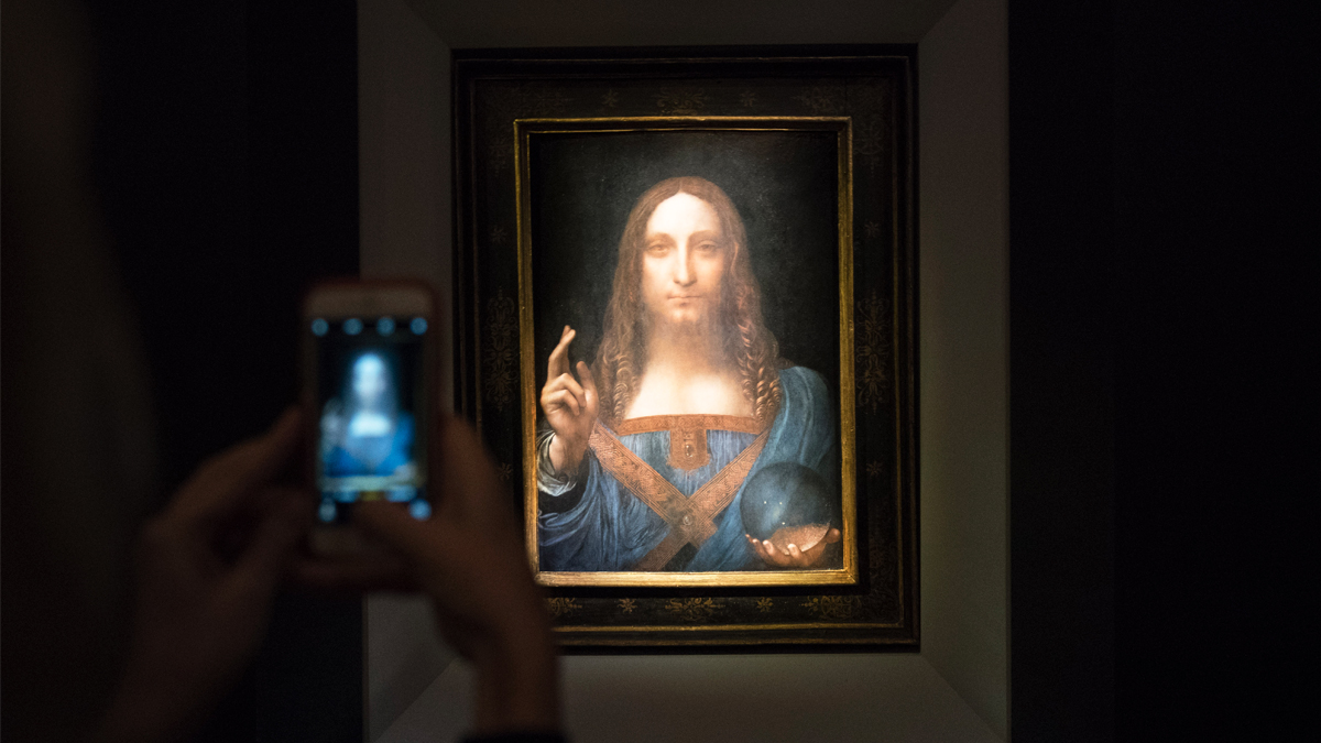 'Salvator Mundi', de Leonardo Da Vinci. (Foto: Getty)