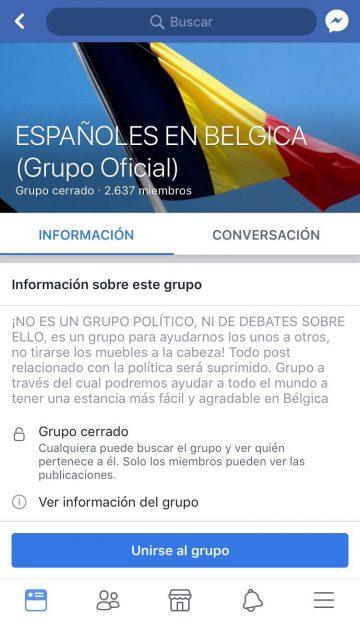 """Los grupos de españoles en Bélgica incluyen cláusulas para evitar """"la matraca separatista"""" en Internet"""