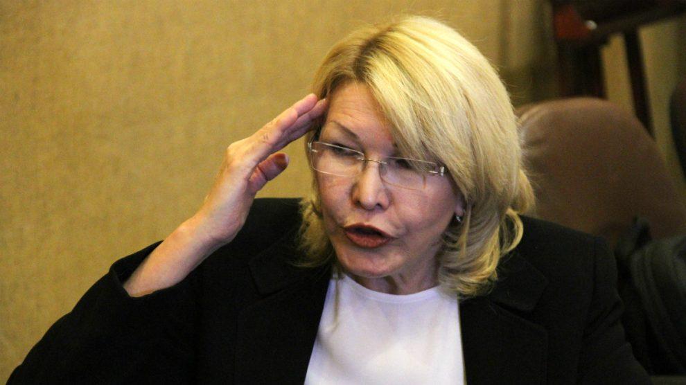 La ex fiscal general de Venezuela Luisa Ortega. (Foto: E. Falcón)