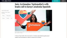 Perfil de Inés Arrimadas en 'The Times'.