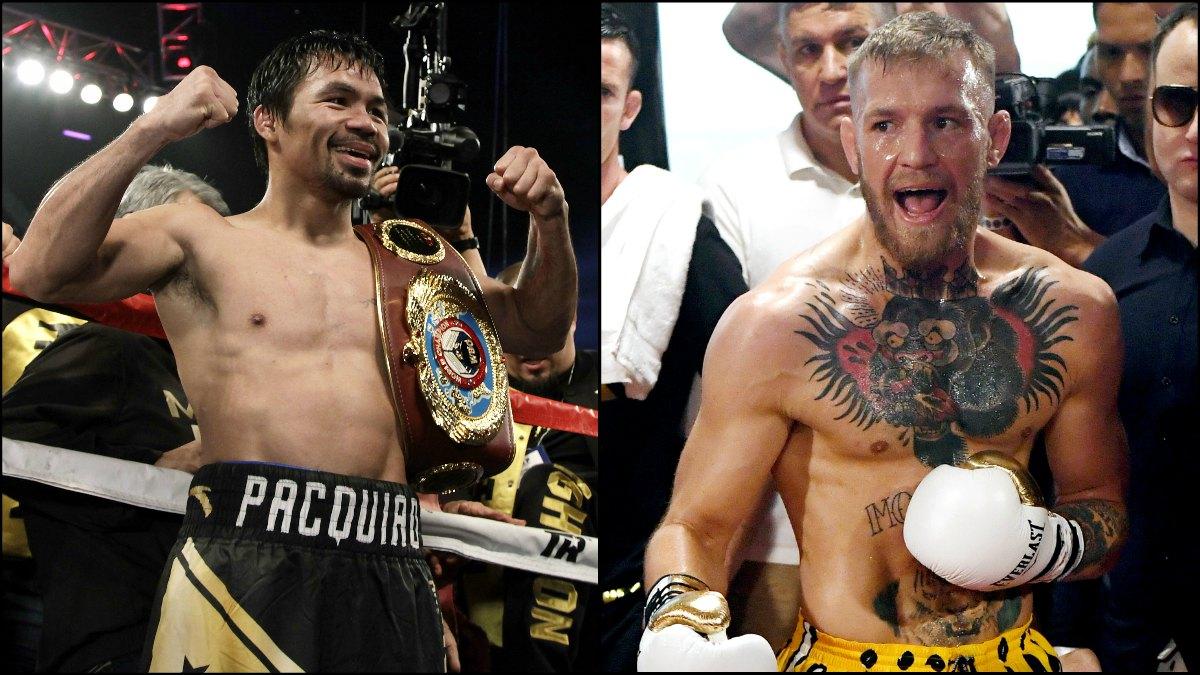 Pacquiao y McGregor negocian una pelea.