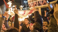 Protestas de ciudadanos palestinos (Foto: AFP)