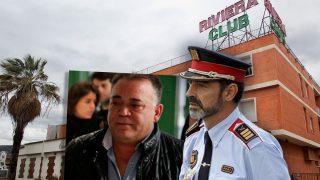 Manuel Gutiérrez Carbajo y el mayor de los Mossos Josep Lluís Trapero.