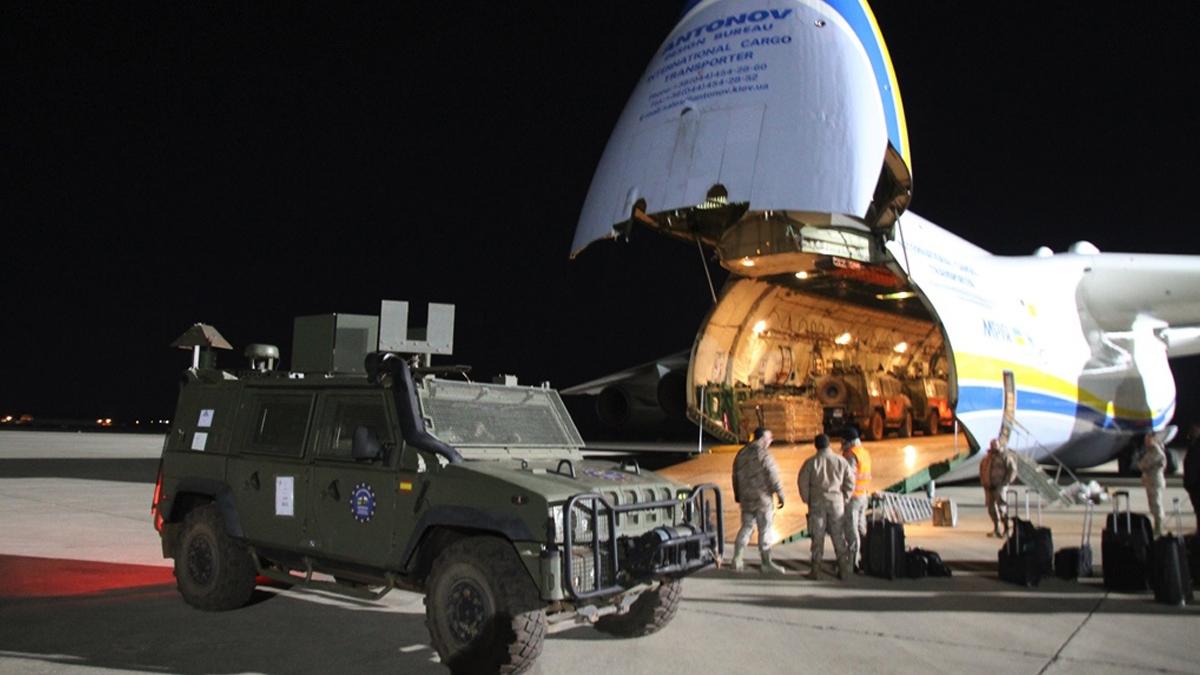 Las FAS españolas se repliegan de Herat, en Aftganistán. (Foto: Julio Maiz/Ministerio de Defensa)