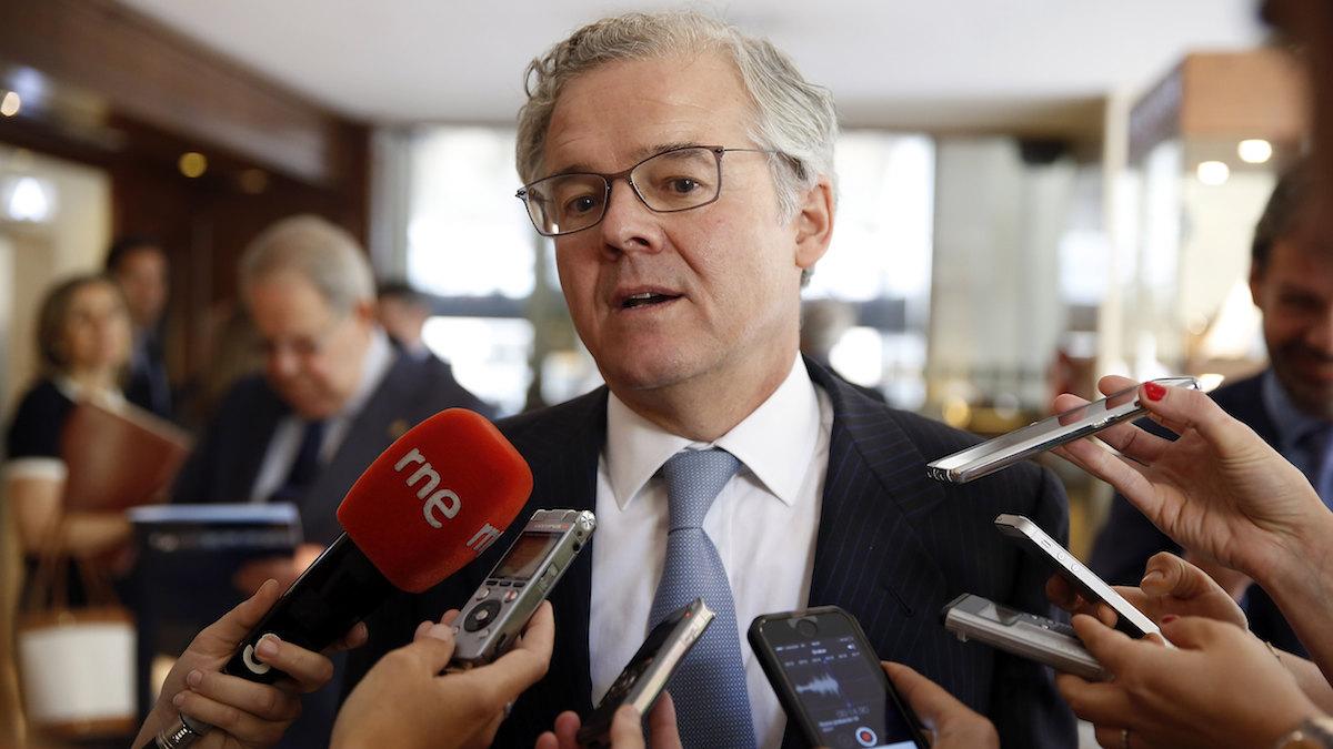 El presidente de la Comisión Nacional del Mercado de Valores (CNMV), Sebastián Albella. (Foto: EFE)