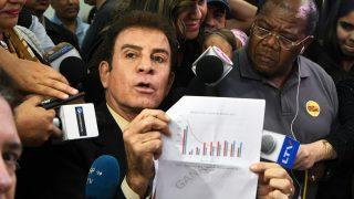 Salvador Nasralla. (Foto: AFP)