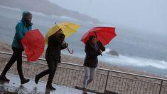 La ciclogénesis explosiva 'Ana' llegó a España el domingo