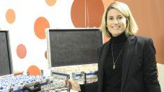 Elsa Artadi promociona el sorteo de la Grossa, durante su etapa como directora general de Tributos de la Generalitat.