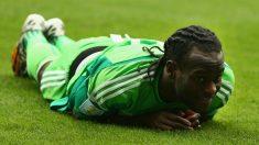 Victor Moses, en un amistoso con Nigeria (Getty)