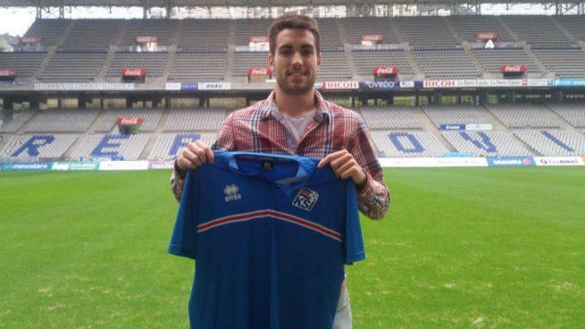 Johannesson, un islandés en Oviedo que sueña con el Mundial