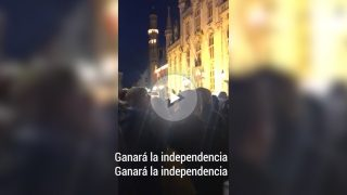 Villancico independentista para las elecciones del 21-D en Cataluña